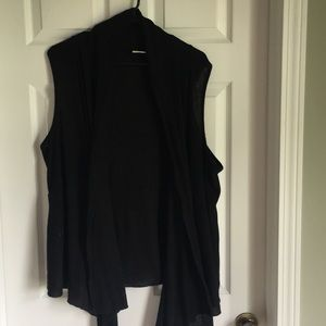 Black sweater vest to create cute layers